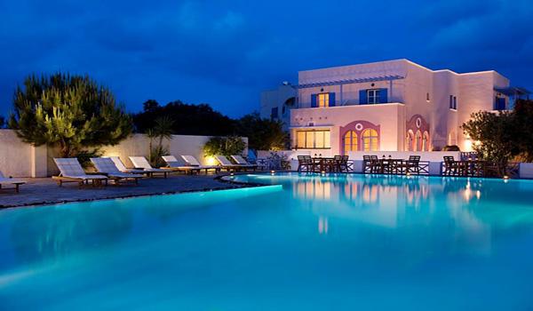Santorini Kamari Hotels Acqua Vatos Hotel In Kamari