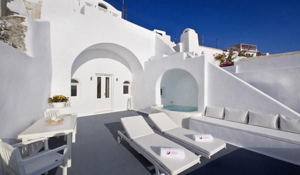 Imerovigli Santorini Luxury Hotels Santorini Hotel Aliko