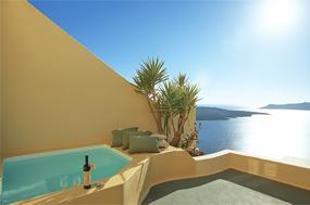 Santorini Fira Hotels Enigma Apartments Hotel Greece